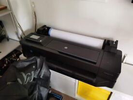 HP T120 Large Format Plotter (Ideal Condition)
