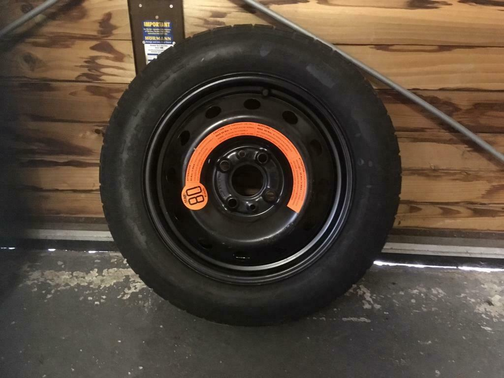 fiat 500 space saver spare wheel