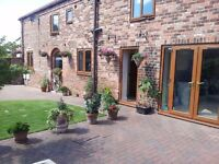 Furnished double room in 220 year old barn conversion