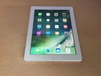 iPad 4 16GB White Wifi + Cellular EE