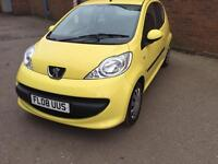 Peugeot 107 2008 only 50,000 miles