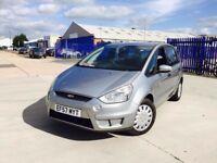 FORD S MAX 2.0 DIESEL SERVICE HISTORY 7 SEATER