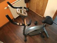 Exercise bike in like new condition