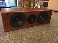 wharfedale emerald center speaker 100 watts