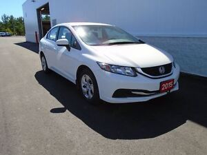 2015 Honda Civic LX (HEATED FRONT SEATS)