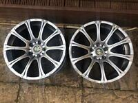 "BMW 18"" Alloy Wheels, Alloys X2 only"
