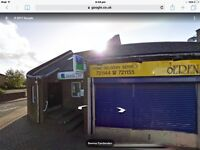 Takeaway shop for lease / partnership