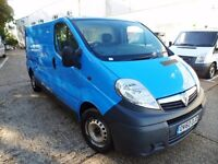 FINANCE 135 P/M- VAUXHALL VIVARO 2.9T 2.0 LWB LOW ROOF VAN - AIR CON-1 OWNER, FSH, 1YR MOT, WARRANTY