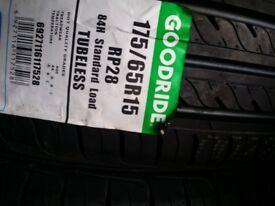 New tyres 175 65 15