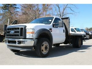 2010 Ford F-550 CHASSIS CAB XL 6.4L V8 Turbo Diesel