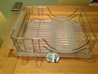 John Lewis Dish Rack and Multi-Kitchen Purpose Drainer