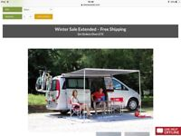 Wind- out Canopy for VW campervan