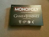 Game of Thrones Monopoly deluxe edition- Brand new in sealed box