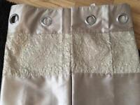 Next Sequin Eyelet Curtains
