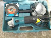 Makita angle grinder 115mm-4.5""