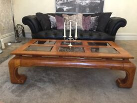 Large Oriental style Coffee Table