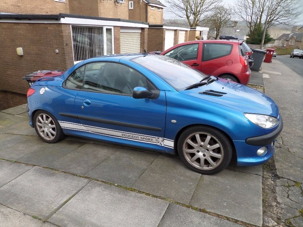 peugeot 206 cc for sale, good condition, new car forces sale | in