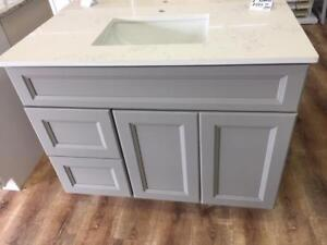 BEST PRICE ON VANITIES, KITCHENS & STONE COUNTERS... REAL WOOD! HURRY IN TODAY!!!