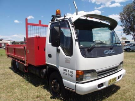 Isuzu NPR400 Long 4x2 Tipper Truck.Sitec,Ex Council.Bobcat Truck