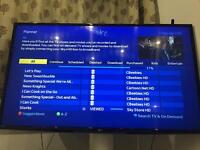 Almost new Sky+ HD box with wifi and 3D