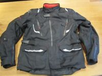 Oxford Montreal 3 waterproof textile motorcycle jacket - Size 44 (UK), XL, 3 months old, as new
