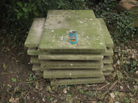 Paving slabs (large) concrete