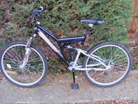 Bike for teenager 13 -17 'Shockwave' with Suspension
