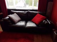 Cozey swivel chair sofa and foot stool