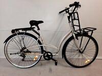 v 🚲🚲SUPER DECATHLON DUTCH City BIKE 7 Speed M Size Front Back Rack Light Warranty 🚲🚲