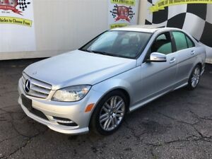 2011 Mercedes-Benz C-Class 250, Automatic, Leather, Sunroof, AWD