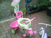 kids smartrike and balance bike
