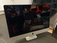 Apple iMac 27'' (2011) - Broken - for Spare Parts (Broken Graphics Card/No Hard Drive)