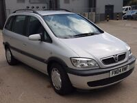 2004 04 Vauxhall Zafira 2.0 Dti Design Only 114k 1Yr MOT & Full S/History Perfect Family 7 Seater
