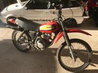 Honda Xl 125s never been registered