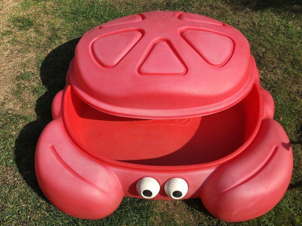 Step 2 Red Crabbie Sandbox Sandpit In Tilehurst