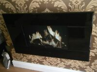 Electric Fire with LCD pictures and sound - as new condition