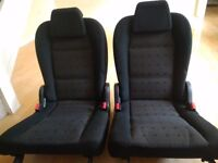 Peugeot 307 SW 2004 set of 2 rear seats (for boot)