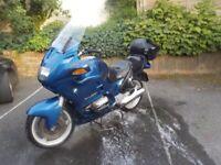 BMW R1100RT Blue