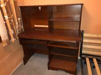 Beautiful Large Wooden Desk!