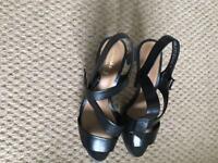 Leather Clarks summer sandals