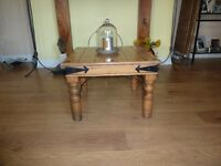 2 sturdy wooden coffee tables