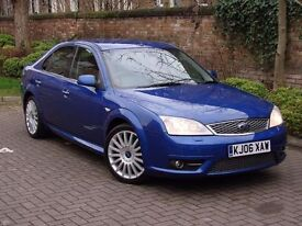 EXCELLENT SPEC!! BLUE 2006 FORD MONDEO 2.2 TDCi 155 ST 5dr, HALF LEATHER, 1 YEAR MOT, WARRANTY