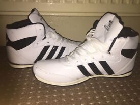 Adidas white trainers..NEW