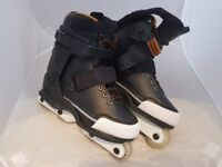 K2 Unnatural Aggressive Inline Skates - Size: UK 8