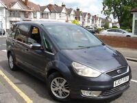 /// FORD GALAXY 1.8 GHIA TDCI /// 2007 PLATE NEWER SHAPE /// PCO REGISTERED /// 7 SEATER 6 SPEED /
