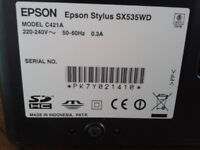 Epson Stylus SX53WD - works but no ink