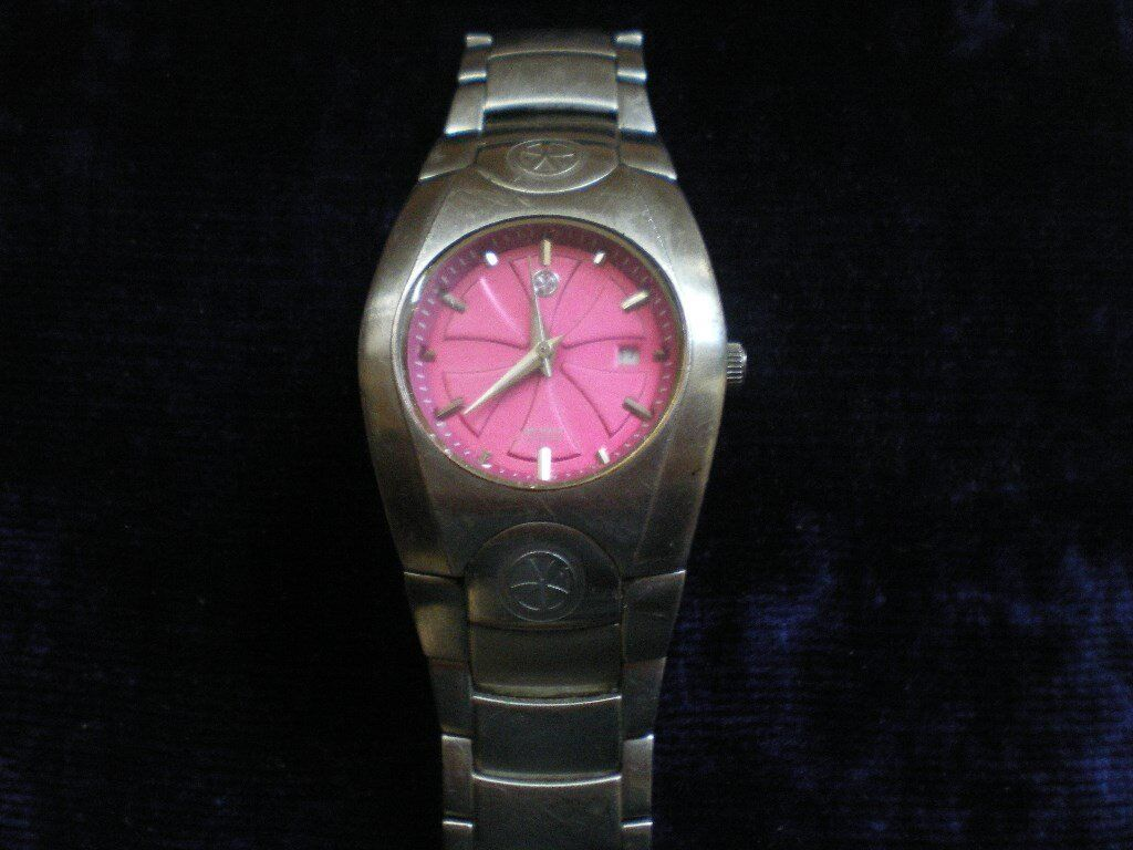 ANIMAL Mooji Ladies Steel 100M Water Resistant Watch