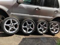 Vauxhall 18 ' penta alloys&tyres