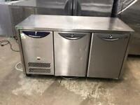 Commercial bench counter pizza fridge for shop pizza fridge for jahshwh