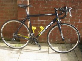 Boardman Race Cycle with upgraded parts